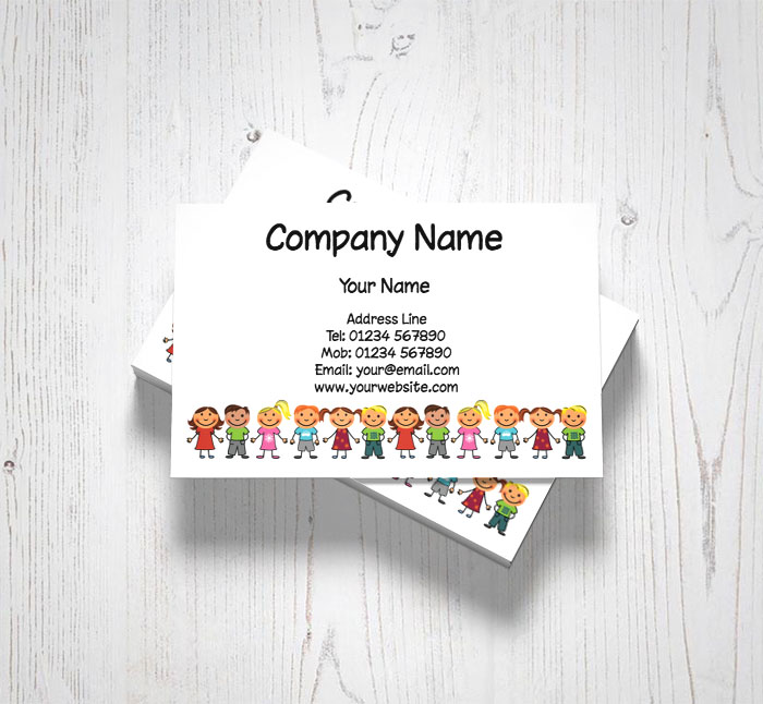 children business cards