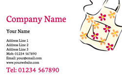 apron business cards