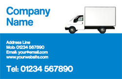 van business cards