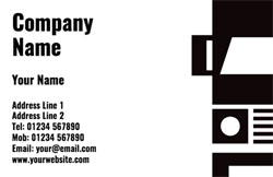 lorry business cards