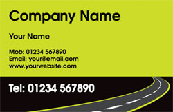 road ahead business cards
