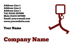 parcel delivery business cards