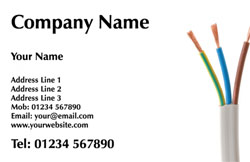 electrical wires business cards