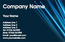 optical fibres business cards