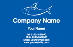 fishmonger business cards