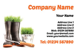 wellington boots business cards