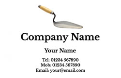 trowel business cards