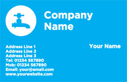 blue tap business cards