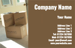 removal service business cards