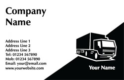 removal lorry business cards