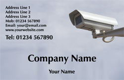 security camera business cards