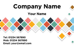 diamond tiles business cards