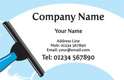 window washer business cards