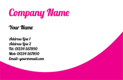 magenta business cards