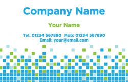 pixels business cards