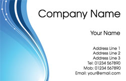 blue stream business cards