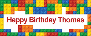 lego party banner