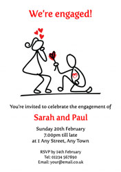 will you marry me invitations