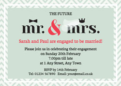 mr and mrs invitations