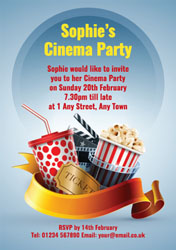 movie themed party invitations