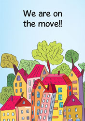 bright houses moving cards