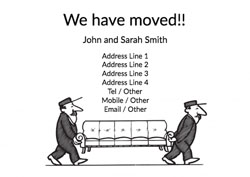 removal men moving cards