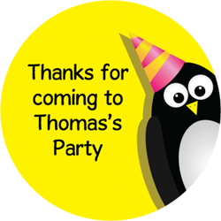 party penguin party stickers