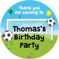 football party stickers