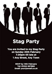 reservoir stags party invitations