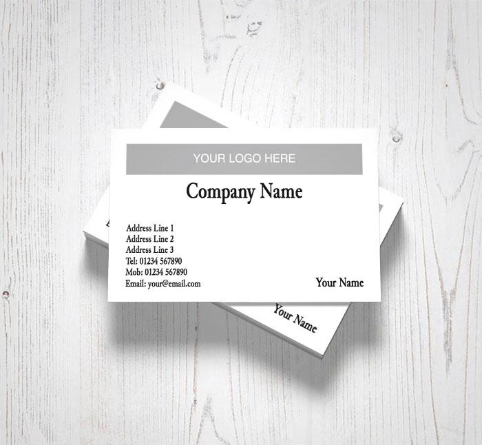 Plain logo upload business cards customise online plus free plain logo upload business cards colourmoves