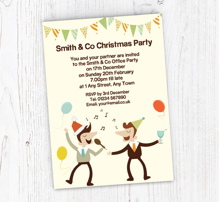 Office Christmas Party Invitation.Office Christmas Party Invitations