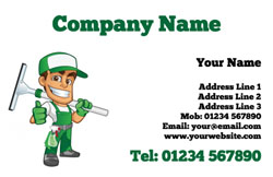 local window cleaning business cards