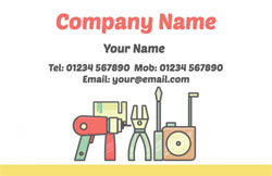 work tools business cards