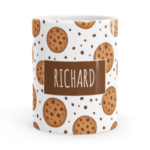 personalised cookie mug