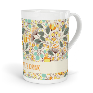 personalised seasons spring fine bone china mug