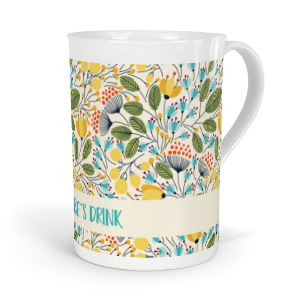 personalised seasons summer fine bone china mug