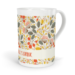 personalised seasons autumn fine bone china mug