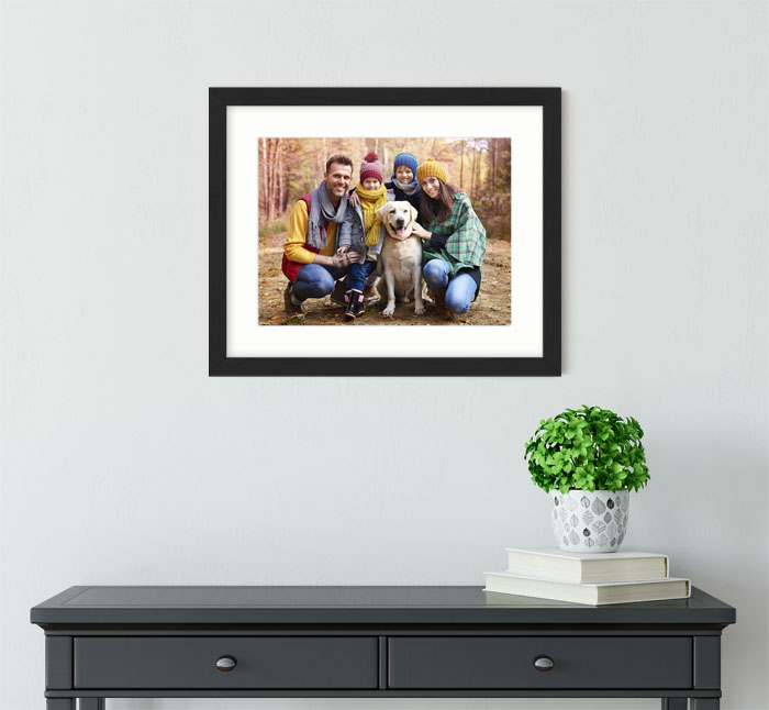 personalised upload photo framed wall art #3